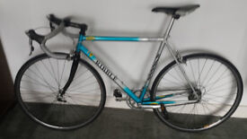 Ribble Dedacciai Steel Racing Bike Ultegra/ 105 STI 9sp Blue Silver Retro