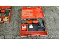 Hilti DX600 actuated nail gun