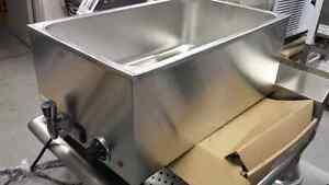 Bain Marie - Stainless Steel Food Warmers - Nouveau!