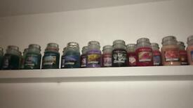 Large Yankee candle collection