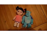Monsters Inc soft toys