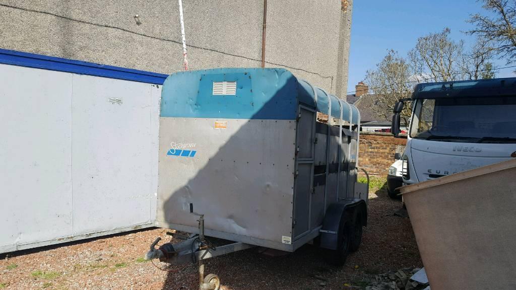 good banbury stockdrover 10ftx6ft livestock trailer no vat