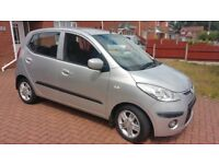 Hyundai i10 1.2 Comfort 5dr 2008 *** Low Mileage ** Low Tax ***