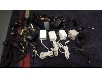 job lot - approx 24 phone chargers etc