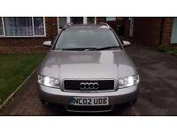 For Sale Audi A4 Avant 2002 2.0L Petrol/LPG Grey