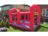 Bouncy castle.material is pelling off but is no hole.!Can deliver or post!