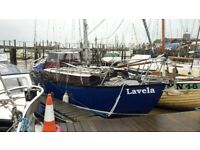 Waterwitch Maurice Grifiths sailing boat LaVela (formerly known as Millstream)