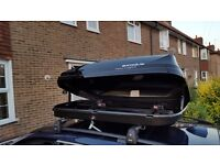 Black Roof box 470L - Car, Exodus