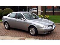 Alfa Romeo 156 FSH, 1 owner , full leather trim