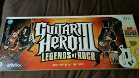 Wii Guitar Hero 3 Legends of Rock
