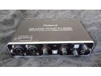 Roland Quad Capture USB Interface