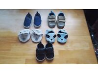 Baby boy shoes (0-6)