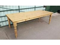 Farmhouse Pine Table 8ft FREE Delivery