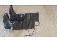 ladies boots size 4 over the knee