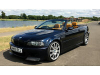 BMW E46 M3 INDIVIDUAL 3.2 MANUAL CONVERTIBLE