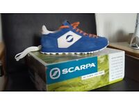 Mens Scarpa trainers. Size UK 9.5 as new.