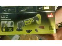 Ryobi multi tool with adjustable head