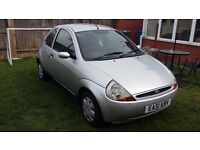 Ford Ka, 1.3, 2001, 79,000 Miles, Full M.O.T., Just serviced.