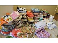 Huge complete Cloth nappy bundle