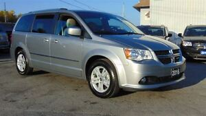 2016 Dodge Grand Caravan CREW PLUS - NAV - LEATHER - ONLY 8,400