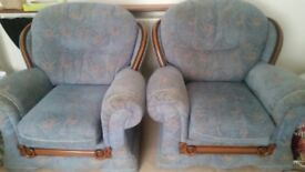 *FREE* 3 seater sofa and two armchairs