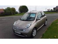 NISSAN MICRA1.4 ACENTA PLUS2008, 3D AUTO,41K,ALLOYS,AIR CON,ELECTRIC WINDOWS,FULL SERVICE HISTORY