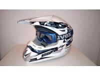 MADHEAD helmet + UVEX goggles £50. Collection only