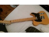Fender Telecaster, Butterscotch 2006 American Deluxe Series with hard case