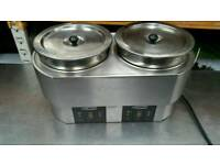 Commercial catering electric baine marie/ food soup warmer