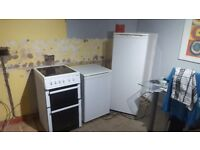 Beko electric cooker,upright freezer and fridge for sale