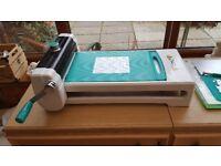 TODO multi functional crafting machine. hot foil,letterpress,die cut & emboss.