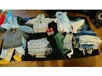 Large baby boys clothes bundle