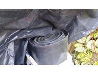 Visqueen Damp Proof Membrane Black 4m x 25m