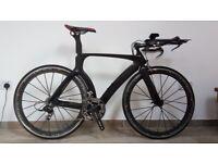 Carbon time trial bike - very light. Sram Red - FSA - Mavic Cosmic Carbone