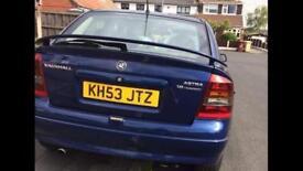 Vauxhall Astra Rear Lights 2003