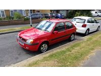 Ford fiesta freestyle 1.25 petrol red