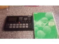 drum machine, plu g on to your guitar pedal beat marker drum programmer, click track
