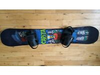 Capita Horrorscope Snowboard (155W) (used) (Open To Sensible Offers)