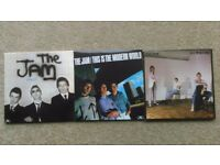 The Jam - vinyl replica CD collection