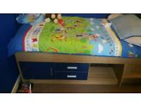 Boys blue cabin bed