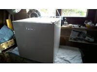 Mini fridge with small freezer compartment. LEC.