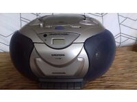 Portable Radio/Cassette/CD Player