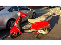 VESPA LX50 Red. 6 months MOT and recently serviced