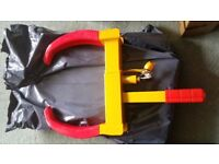 heavy duty claw wheel clamp brand new in box