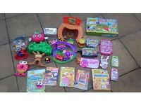 Moshi monsters & shopkins collection