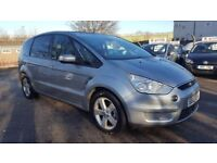 FORD S-MAX 2.0 TDCI TITANIUM PANORAMIC ROOF 7 SEATER 6 SPEED 2007 / TIMING BELT DONE / FSH / 1 OWNER