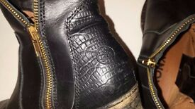 BRONX leather boots 37