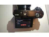 Sony Alpha A6000 Black Digital Camera ILCE-6000L, body only, like new