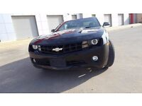 Chevorlet Camaro 2010 RS 3.6- Black- Automatic * Amazing Deal* LHD* Export*Local*left hand drive