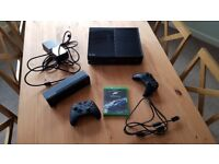 XBox One with Kinect, 2 controllers & Forza 6 Game
